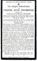 Elverdinge - Speybrouck - Decleire 1858 - 1928 - Unclassified