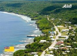 Niue Island Alofi Aerial View New Postcard - Other