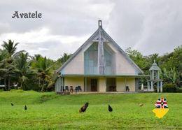 Niue Island Avatele Church New Postcard - Other