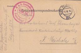 Feldpostkarte K.u.k. Geniedirektion Bauleitung IV - Nach St. Michele - 1916 (55478) - Covers & Documents