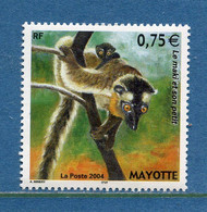 ⭐ Mayotte - YT N° 167 ** - Neuf Sans Charnière - 2004 ⭐ - Unused Stamps