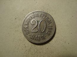 MONNAIE SERBIE 20 PARA 1912 - Serbia
