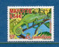 ⭐ Mayotte - YT N° 204 ** - Neuf Sans Charnière - 2007 ⭐ - Unused Stamps
