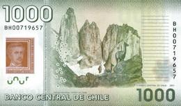 CHILE P. 161b 1000 P 2011 UNC - Chile