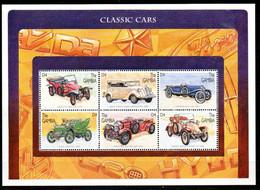 Gambia 2358 - 2363 KB Kleinbogen Mnh ** Auto Car Voiture Fiat Tipo   Toyota NAG Cadillac Bentley Renault - Gambie (1965-...)