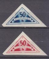 1940Slovakia79-80bDelivery Signs - Nuevos