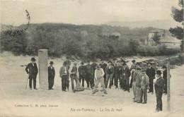 """/ CPA FRANCE 13 """"Aix En Provence, Le Jeu De Mail"""" - Aix En Provence"""
