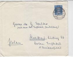 Brief Mit 393 Aus MÜNSTER 5.7.28 Nach Krakau / Polen - Covers & Documents