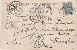 RUSSIE - Carte Postale à Destination De La CHINE Par Le TRANS BAIKAL - Briefe U. Dokumente