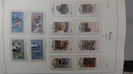 S26 Belle Collection De Pologne Timbres + Blocs ** Sur Feuilles D'album LEUCHTTURM De 1980 à 1988 . Voir Commentaires!!! - Collections (with Albums)