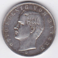 Bayern – Bavière . 3 Mark 1908 D , Otto , En Argent, KM# 996 - 2, 3 & 5 Mark Silber