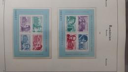 S28 Belle Collection De Roumanie Timbres + Blocs ** Sur Feuilles D'album LEUCHTTURM De 1985 à 1989. Voir Commentaires!!! - Collections (with Albums)