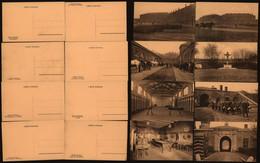 Carte Postale (militaria) - Caserne Chartreuse : Lot De 8 Cartes Postales Neuves (Liège) - Barracks