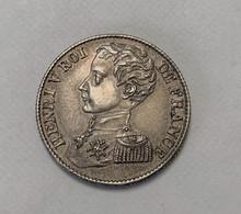 1 Franc HENRI V Roi De France - H. 1 Franc