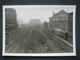 1962 AMBURGO HAMBURG CHEMIN DE FER STAZIONE STATION RAILWAY FERROVIA TRENI TRAIN - Treinen