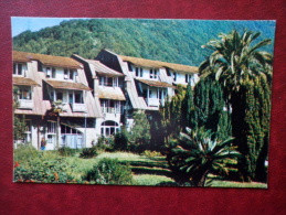 Pension House Zhoekvara - Gagra - Abkhazia - Black Sea Coast - 1974 - Georgia USSR - Unused - Georgia