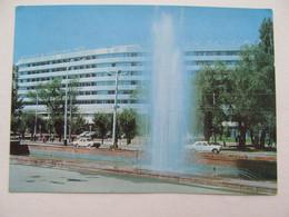 Kazakhstan Alma-Ata  Almaty Hotel Car 1976 - Kazakhstan