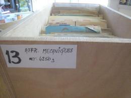France , Gros Lot De 4250 G   De  Documents  Divers Affranchissements Mecaniques - Annullamenti Meccaniche (Varie)