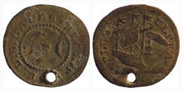 Nuremberg Jeton /Rarity - Mistake/ Lauer Ernst Ludwig Sigmund 1783-1833 / Sun-Moon-Ship/ PLUS-ULPRA / - Monetary/Of Necessity