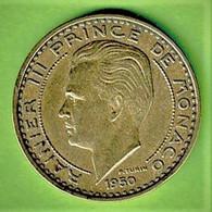 RAINIER III / 50 FRANCS / 1950 / TTB+1 - 1949-1956 Old Francs