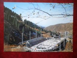 Sports-complex Medeo - Stadium - Almaty - Alma-Ata - 1984 - Kazakhstan USSR - Unused - Kazakhstan
