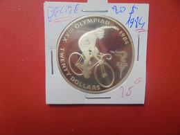 BELIZE 20$ 1984 ARGENT (A.7) - Belize