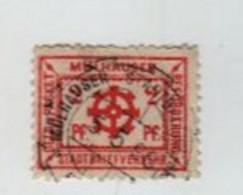 MULHOUSE 1898 Poste Locale 2pf  Timbre Isolé émission Reich - Alsace-Lorraine