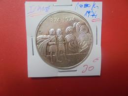 ISLANDE 1000 KRONUR 1974 ARGENT (A.7) - Iceland
