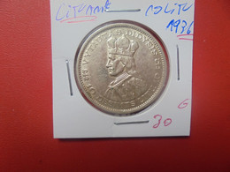 LITUANIE 10 LITU 1936 ARGENT (A.7) - Lithuania