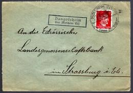 1943 - DANGOLSHEIM ÜBER MOLSHEIM ELSAß - POUR STRASBOURG - Alsace Lorraine