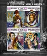 2020/11- CHAD - EMPEROR NAPOLEON 1ER       4V   MNH *** - Napoléon