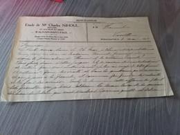 Walhain  Saint Paul Notaire Nihoul 1924 - Unclassified