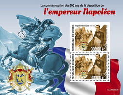 2020/12- GUINEA - EMPEROR NAPOLEON 1ER      4V   MNH *** - Napoléon
