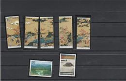 Japon Yvert 2145 à 2151 ** Neufs Sans Charnière - Ungebraucht
