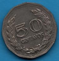 COLOMBIA 50 CENTAVOS 1977 KM# 244 Francisco De Paula Santander - Colombia
