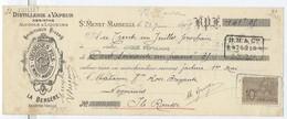 ABSINTHE / Distillerie Georges & Fils - Absinthe La Bergère à St Menet, Marseille / Billet à Ordre 1905 - 1900 – 1949
