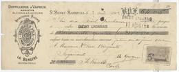 ABSINTHE / Distillerie Georges & Fils - Absinthe La Bergère à St Menet, Marseille / Billet à Ordre 1902 - 1900 – 1949