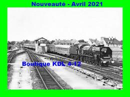 AL 686 - Train, Loco Mountain 241 P 9 En Gare - ARGENTAN - Orne - SNCF - Argentan