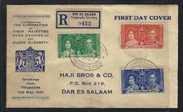 TANGANYIKA 1937:  LSC Rec. - Kenya, Uganda & Tanganyika