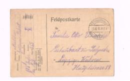 Feldpostkarte.Expédié De 108 Div.Inf. à Leipzig. - Lettres & Documents
