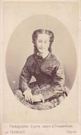 IMPERATRICE Eugénie épouse Empereur Napoléon III Photo CDV Par THIEBAULT Paris 1869 FRANCE - Old (before 1900)
