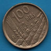 ESPANA 100 PESETAS 1995 KM# 950 FAO - 100 Pesetas