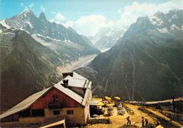 74 - Vallée De Chamonix Mont Blanc - Le Téléphérique De La Flégère - Panorama Sur L'Aiguille Verte, Le Dru - Unclassified