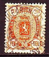 1889. Finland. Coats Of Arms. Used. Mi. Nr. 30 - Oblitérés