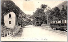 65 CAUTERETS - Halte De Chemin De Fer De Calypso. - Spagnole (prima Del 1940)