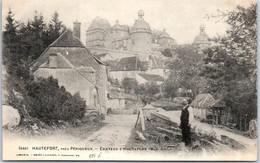 24 HAUTEFORT - Vue Sur Le Château. - Other Municipalities