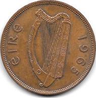 Ireland  1 Penny  1965  Km 11  Vf+ - Ierland