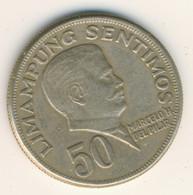 PHILIPPINES 1974: 50 Sentimos, KM 200 - Philippines