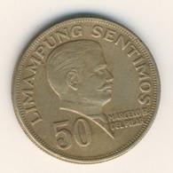 PHILIPPINES 1972: 50 Sentimos, KM 200 - Philippines