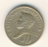 PHILIPPINES 1972: 10 Sentimos, KM 198 - Philippines